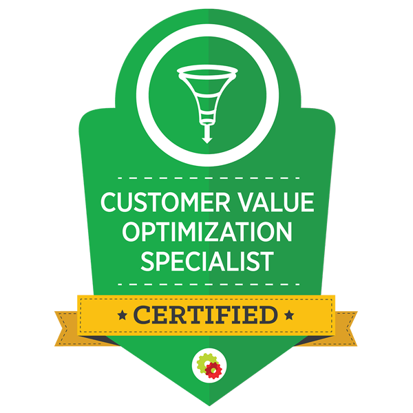 customer value optimization certified