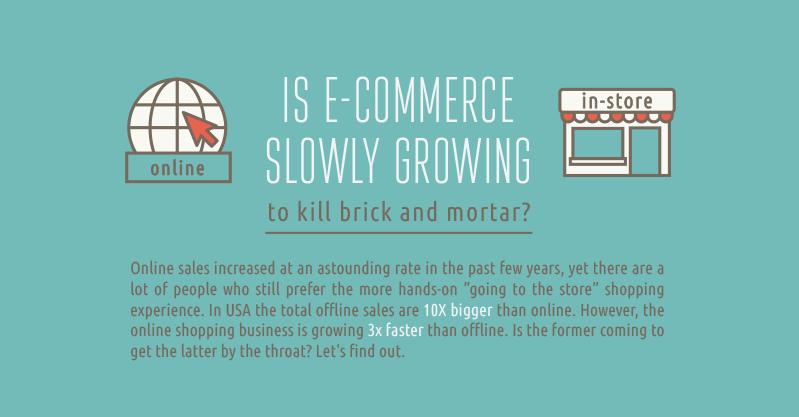 eCommerce offline vs online